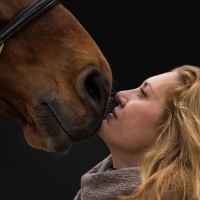Rosanna Rodermans met paard